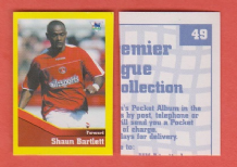 Charlton Athletic Shaun Bartlett South Africa 49 BTR (D)